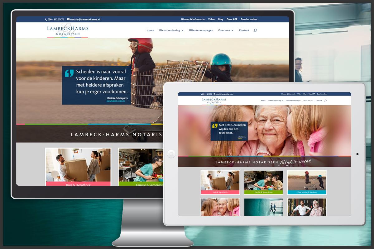 WordPress website en ontwikkeling
