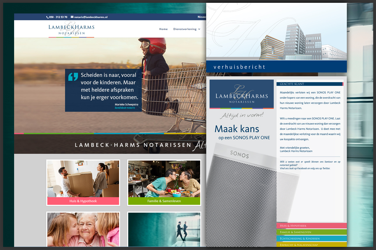 WordPress website en campagnes