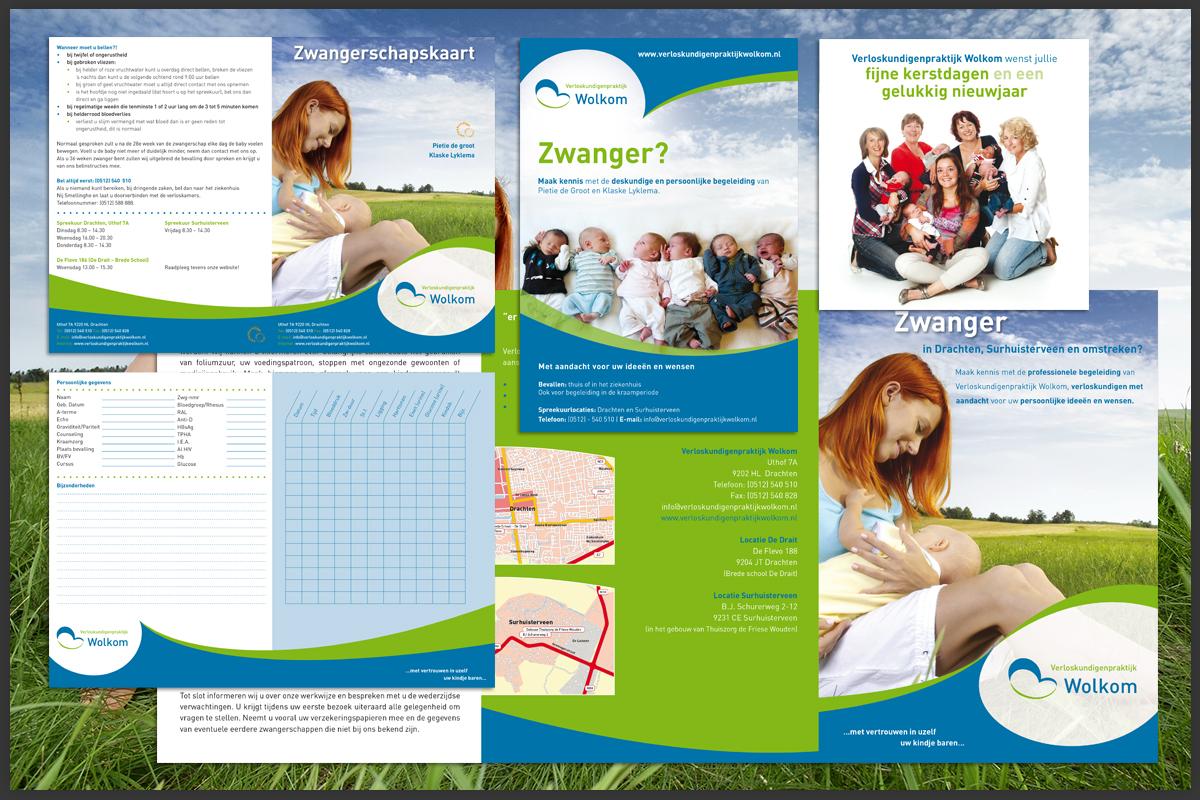 Ontwerp en ontwikkeling brochures Wolkom
